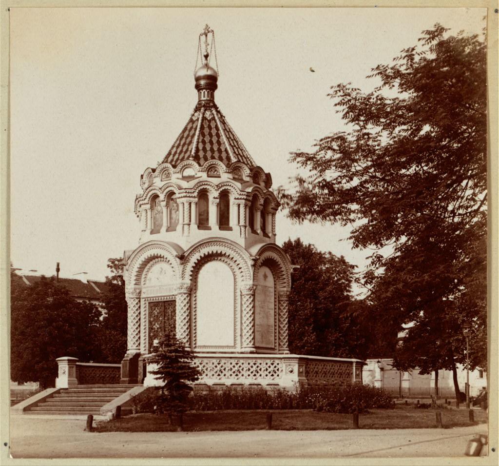 Часовня в память подавления польского восстания. 1912