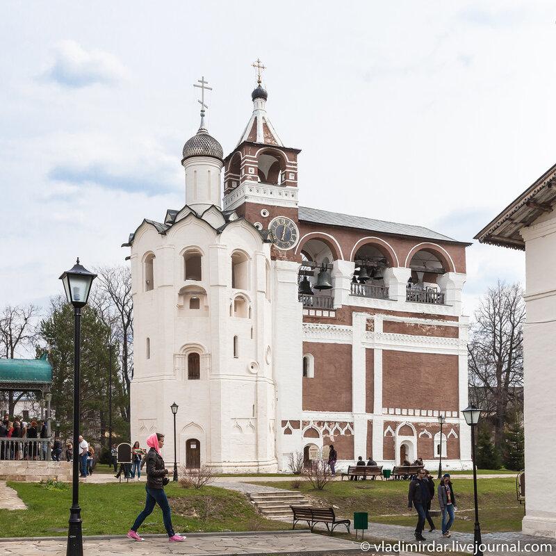 Звонница Спасо-Евфимиева монастыря в Суздале