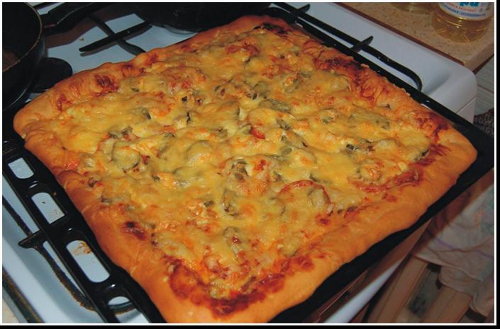 рецепт теста для пиццы и пирогов