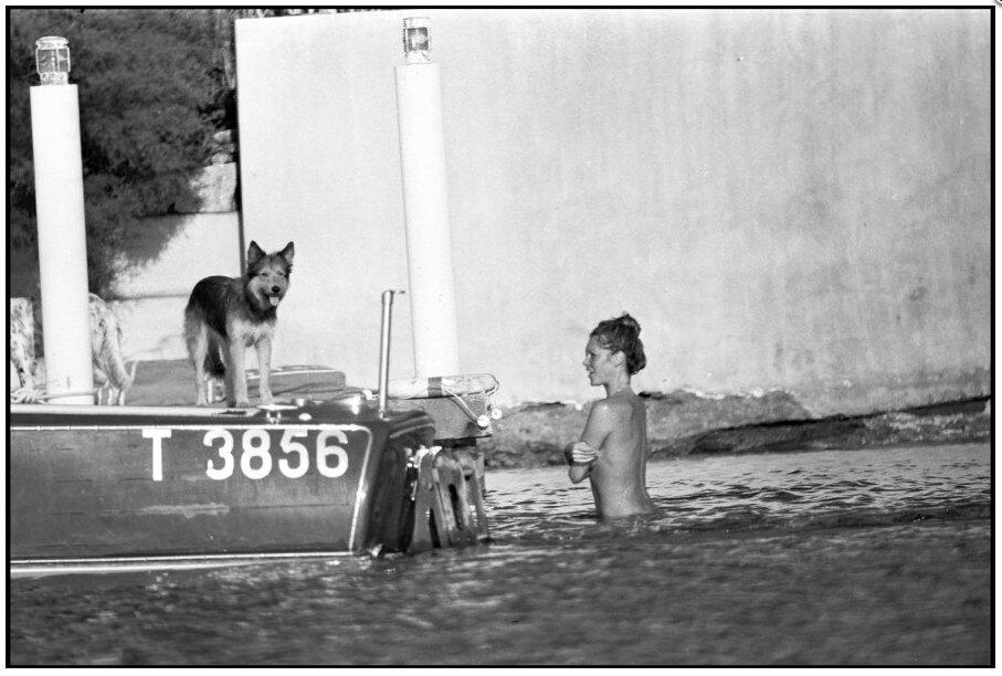 Brigitte Bardot à la Madrague, Saint Tropez, 1975