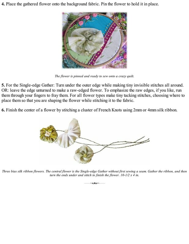 Silk Ribbon Embroidery: A Beginner Guide