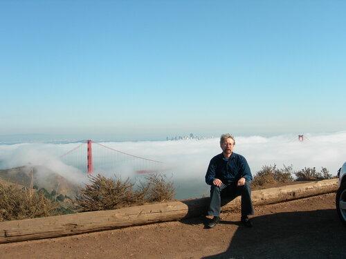 Сан-Франциско. Мост уже почти не виден...
