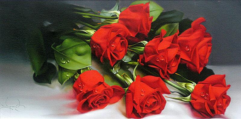 Розы стихотворение