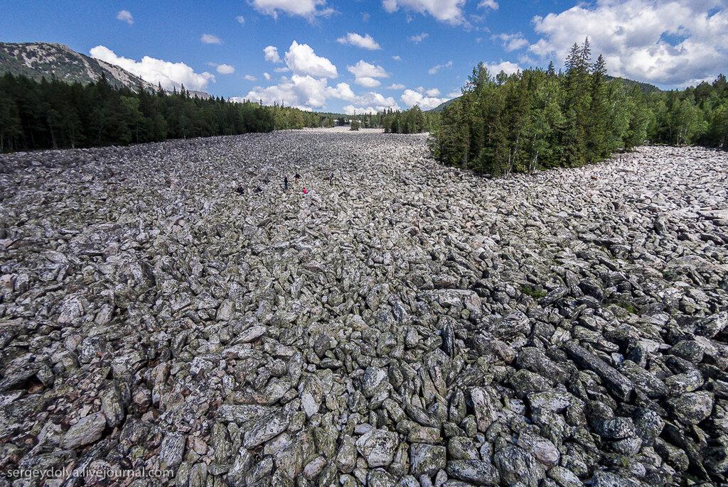 Таганай. Каменная река