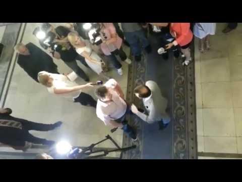 Ляшко выгоняет журналистов Киселева с Рады