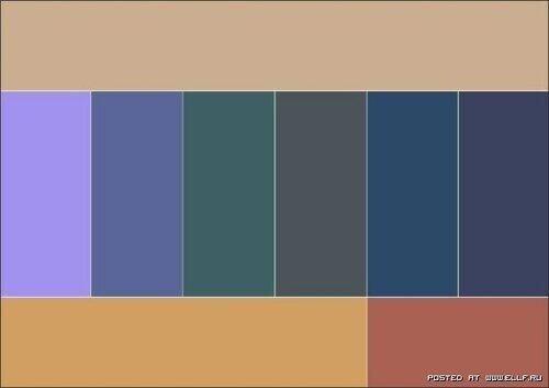 Учимся правильно сочетать цвета в одежде