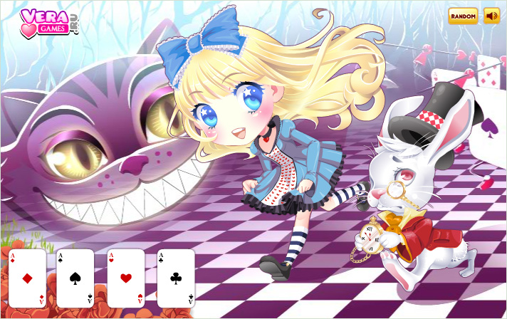 Флэш-игра: Dress up Cute Alice