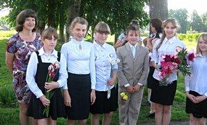 Рябчинская школа. 23 мая 2014 г. Последний звонок.