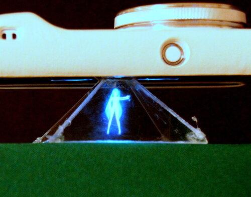Голограмма в пирамиде своими руками