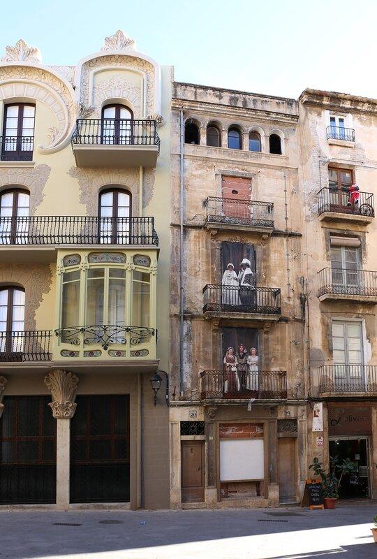 Tortosa. Grego house. Casa Grego,Casa Pilar Fontanet