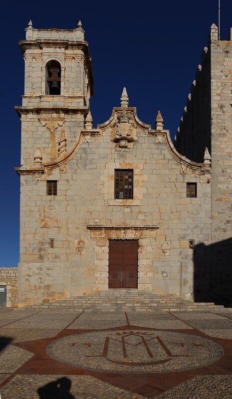 Peniscola. Church of the Virgen de la Ermitana. Iglesia de Nuestra Señora de la Ermitana, Mare de Déu de l Ermitana