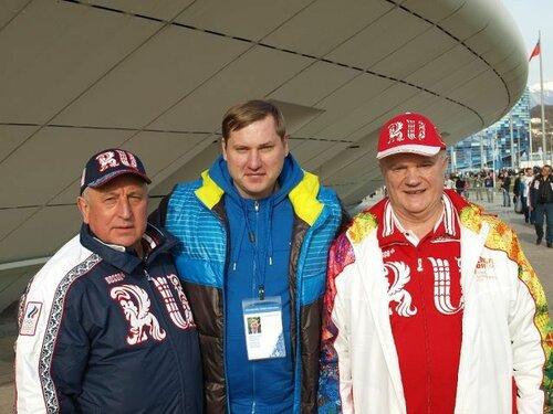 Константин Терещенко на Олимпиаде в Сочи-2