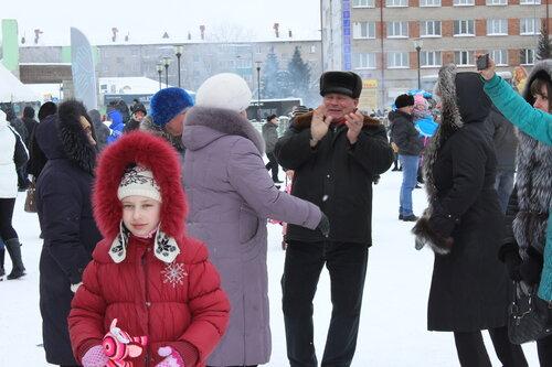 Масленица в Куйбышеве,