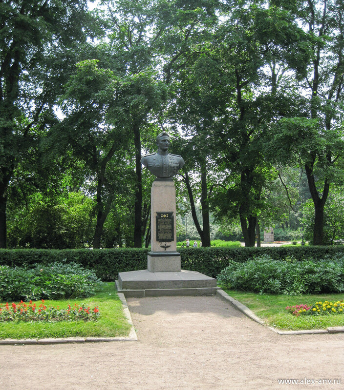 Московский парк Победы. В.И.Раков