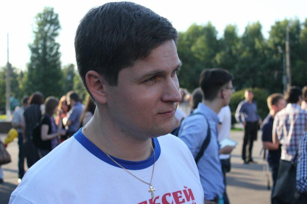 Кандидат в депутаты Мосгордумы Алексей Бескоровайный