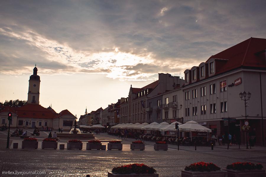 Белосток, Польша, Białystok, Рыночная площадь