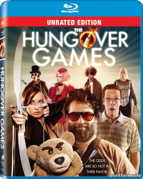 Похмельные игры / The Hungover Games (2014/BDRip/HDRip)