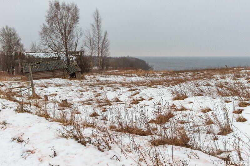 Старые дома, Онежское озеро, Вологодская область