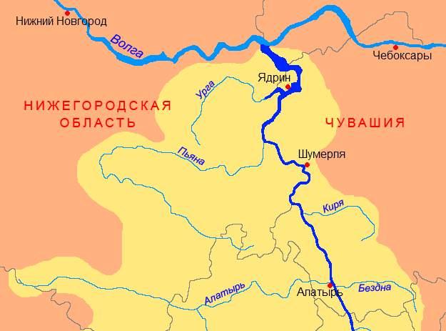 Река Урга
