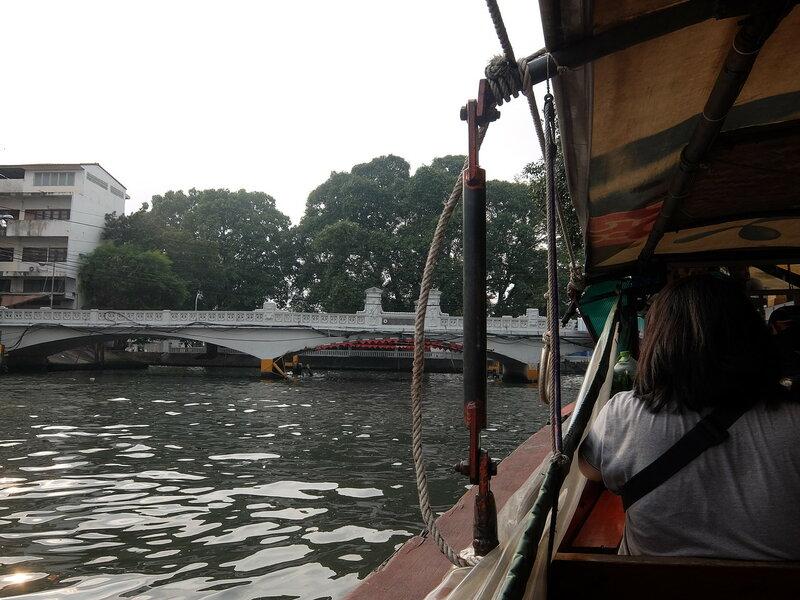 Бангкок - На лодке по каналам