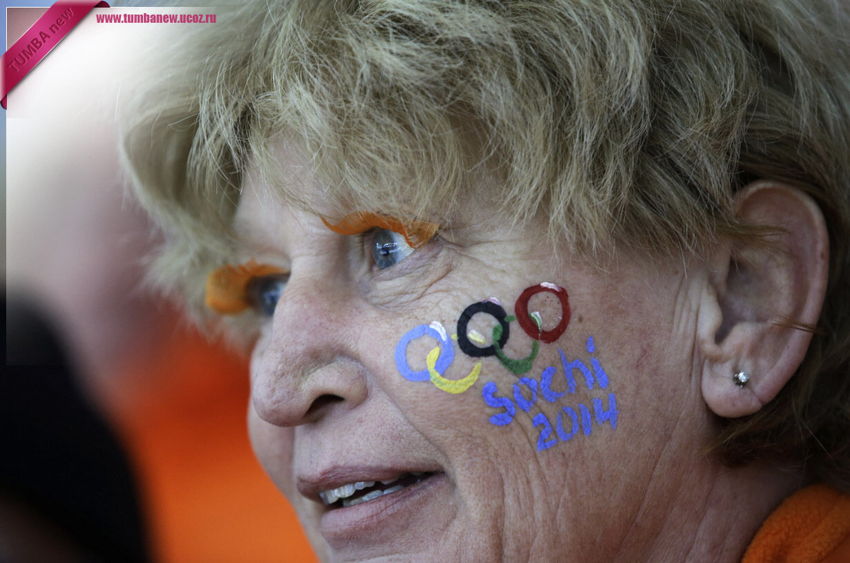 Россия. 13 февраля. Болельщица из Нидерландов. (AP Photo/David J. Phillip )