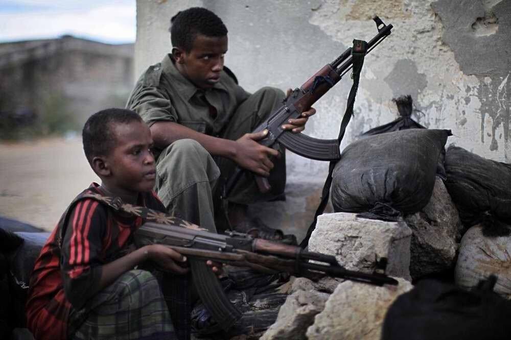 Дети солдаты - Сомали (7)