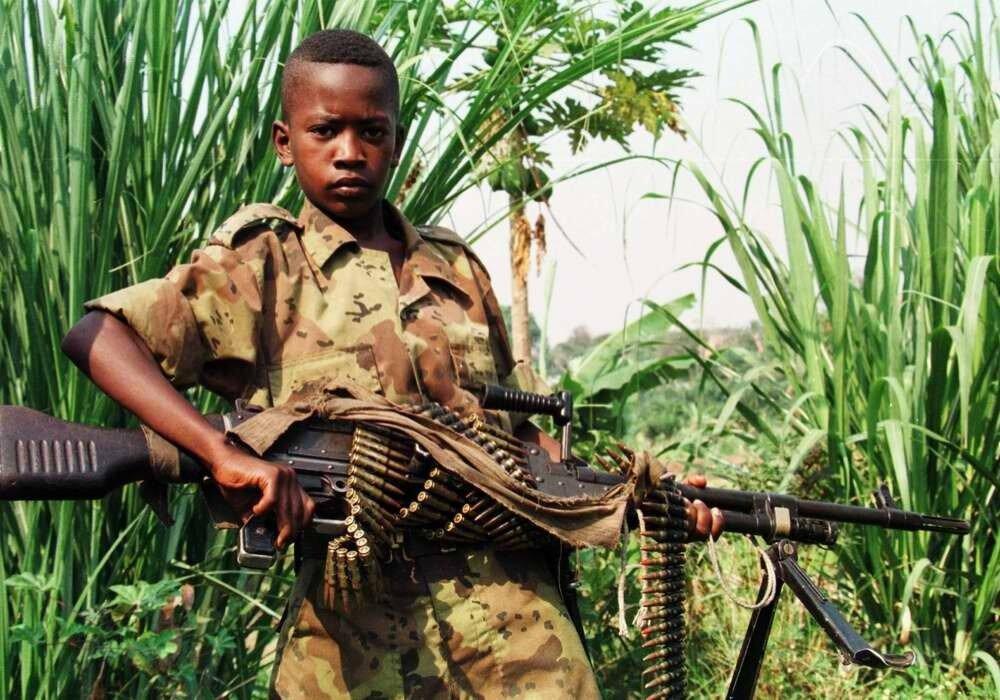 Дети солдаты - Конго (5)