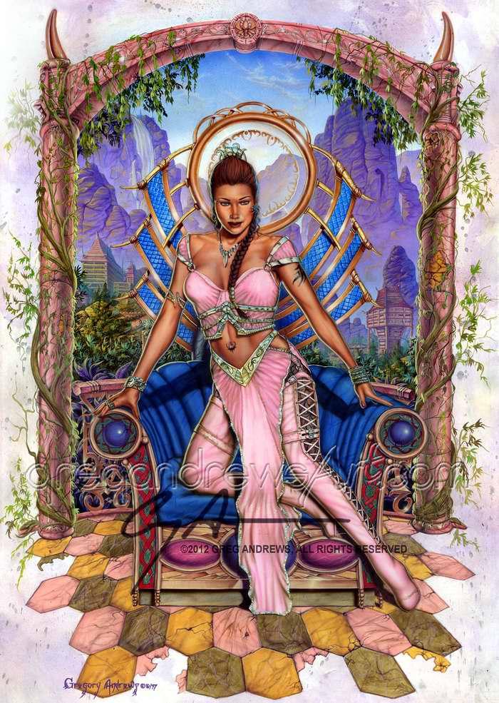 Розовая принцесса - Greg Andrews