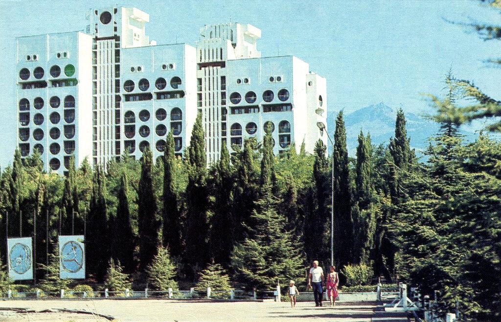 Как было раньше: фотографии Алушты в 1989 году фото 1