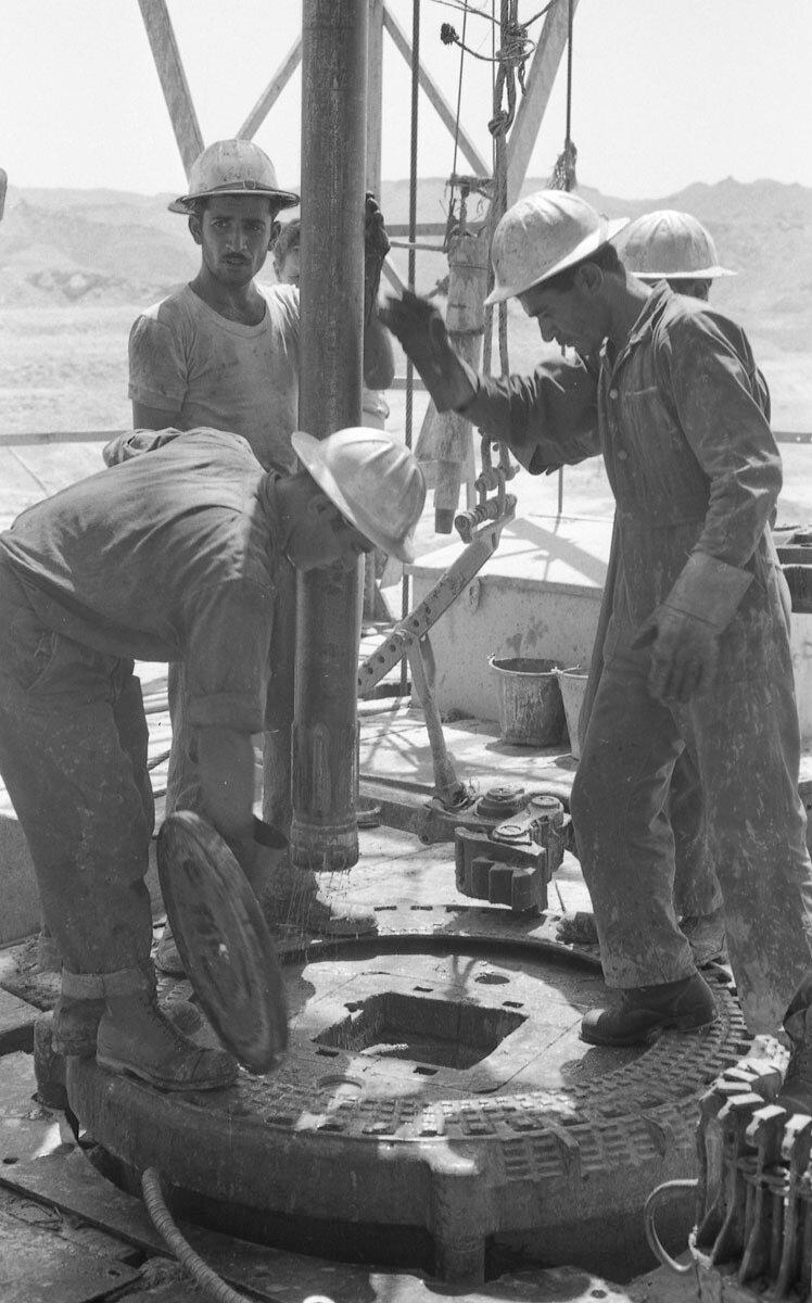 60. Работники нефтяной промышленности, Иран, 1958