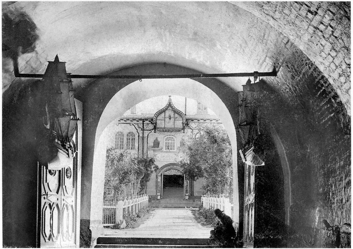 Соловецкий монастырь. Святые ворота. 1908-1910