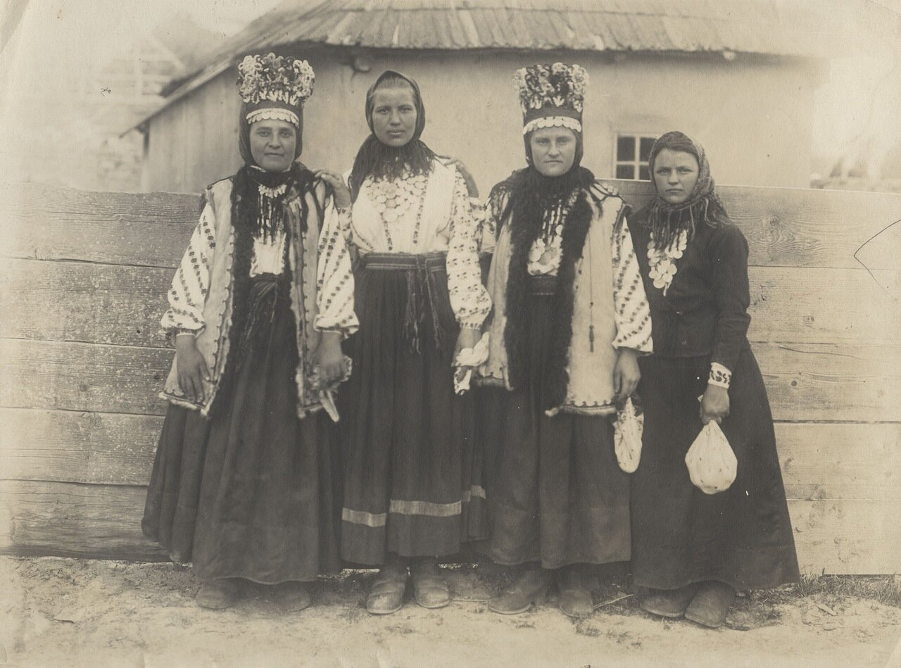 Типы жительниц Бессарабии