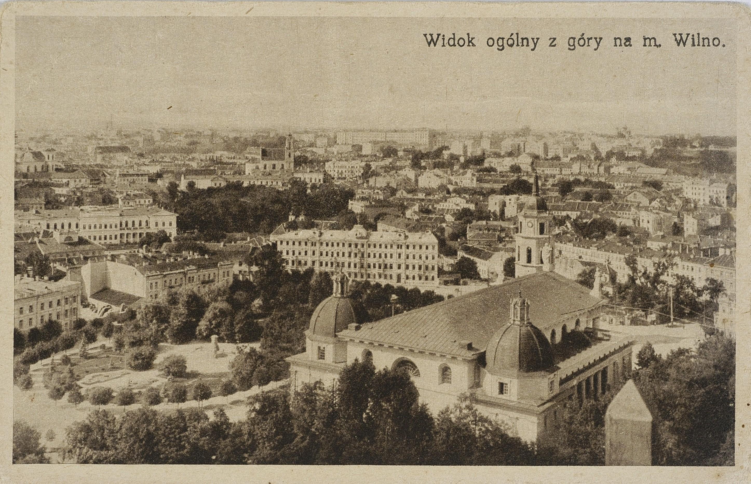 Общий вид с верхней части города