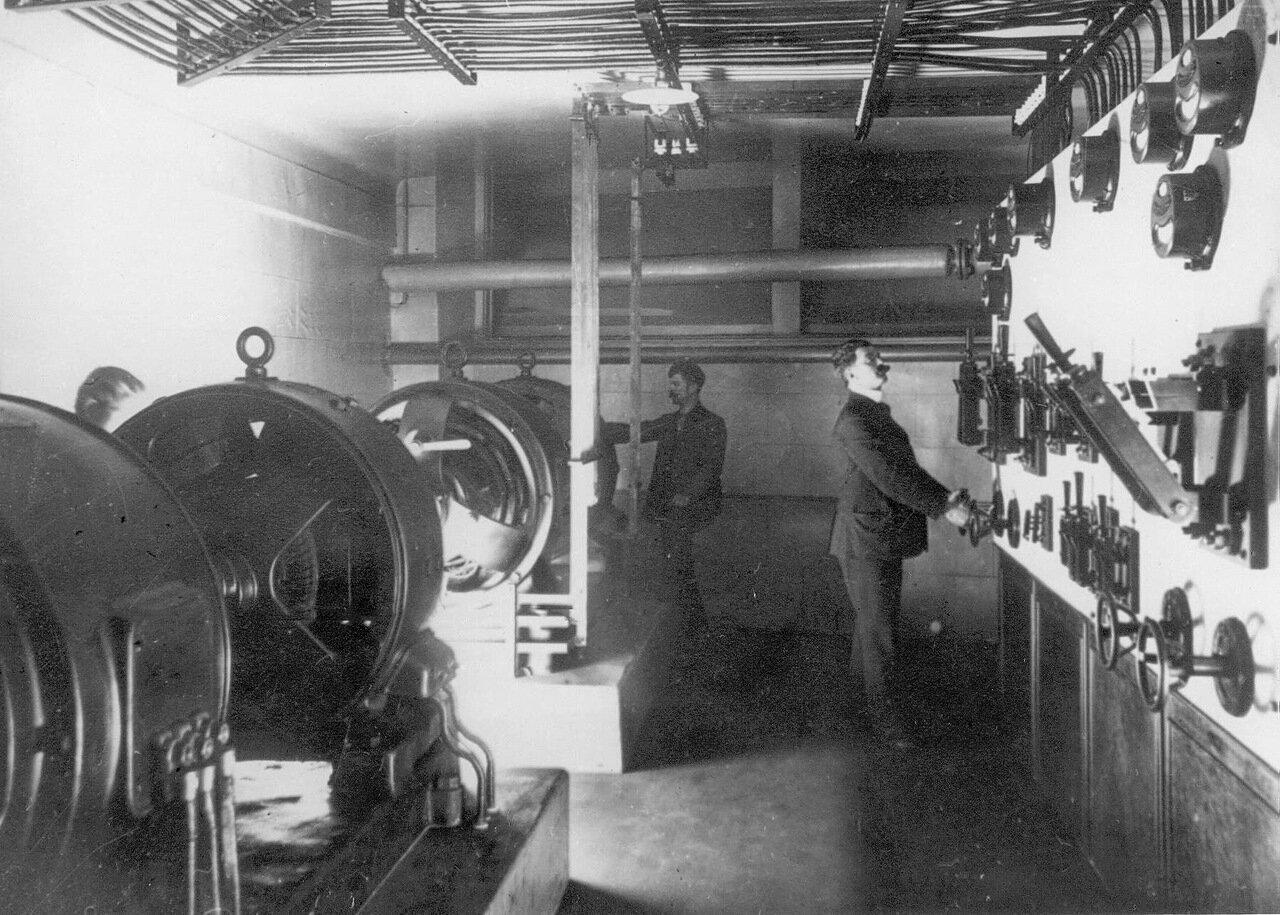 03. Машинное отделение. 1908
