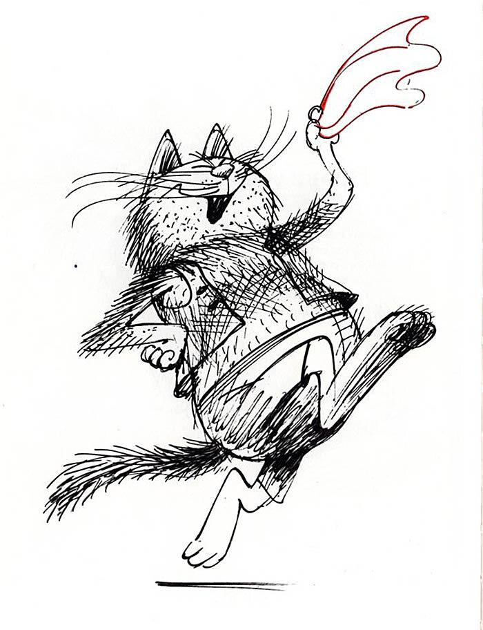 Чижиков коты открытки, днем