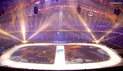 Про церемонию открытия Сочи-2014