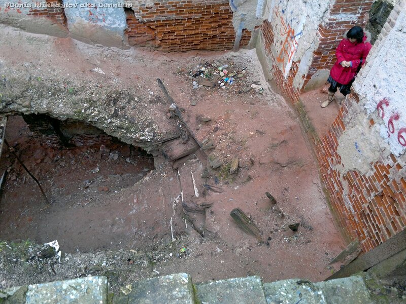 Усадьба Гребнево. Главная лестница дворца.