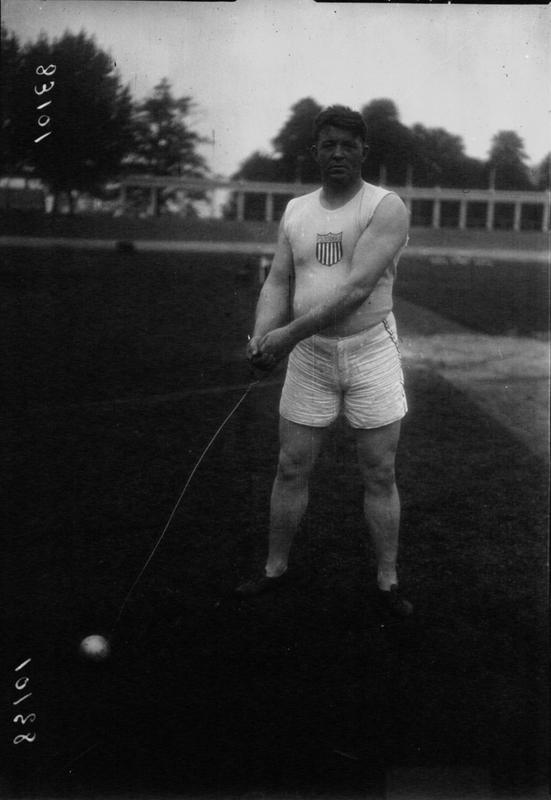 VII Олимпиада в Антверпене