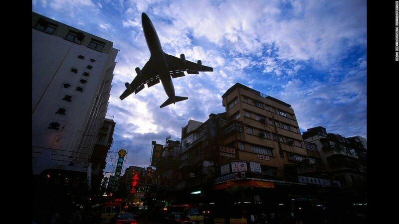 Hong Kong's Kai Tak Airport