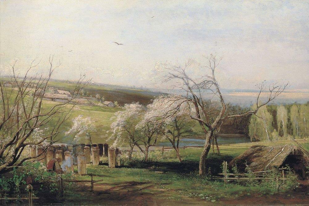 Сельский вид. 1867.jpg