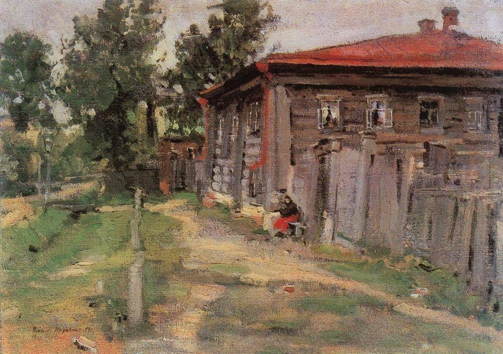 Уголок провинции (Улица в Переславле). 1905.jpg