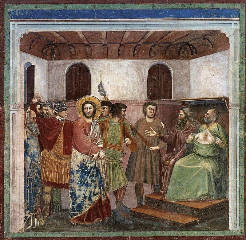 32.Жизнь Христа. Иисус перед Каиафой.jpg