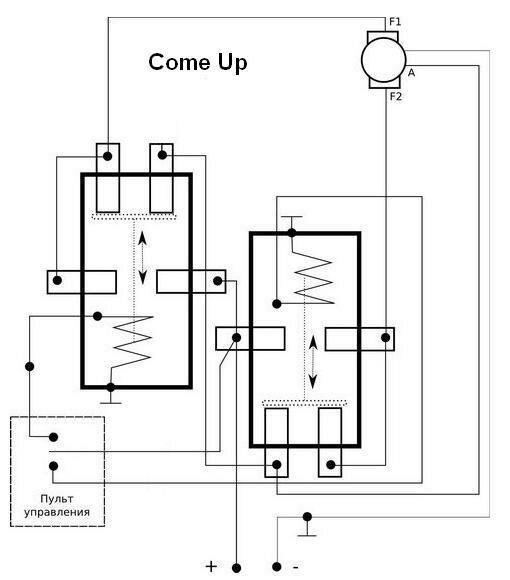Схема подключения моноблока