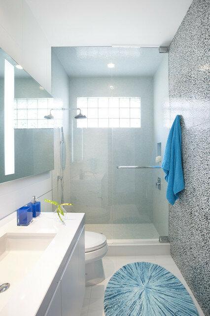 Дизайн интерьера маленькой ванной комнаты