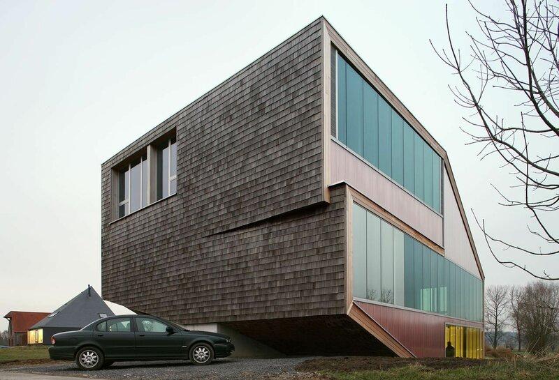 Фото-архитектурные трипы фотографа-архитектора Филипа Дюжардена. 27 кадров.
