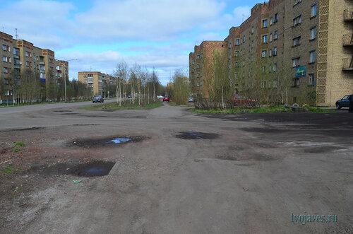 Фото города Инта №6916  Куратова 42, 40 и 39 10.06.2014_14:50