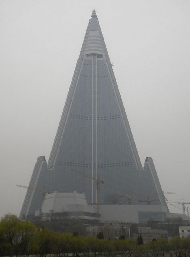 Ryugyong Hotel (Korean: 류경호텔)