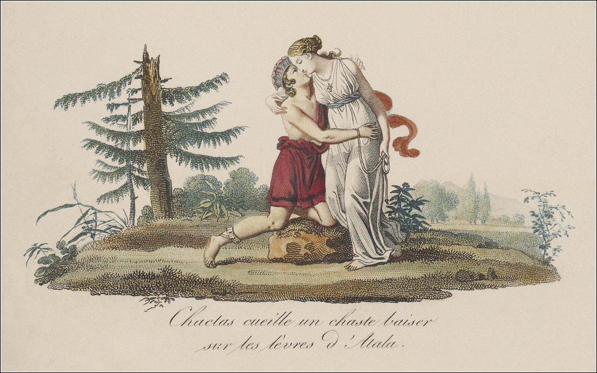 Bosselman, Scènes et tableaux tirés d'Atala