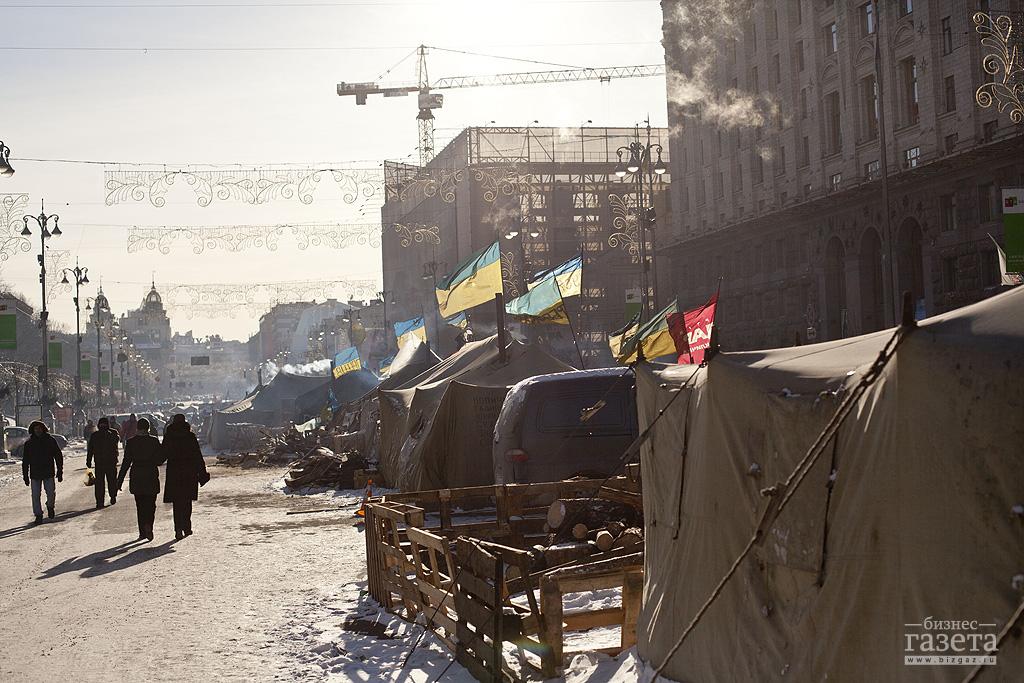 Фоторепортаж: Евромайдан