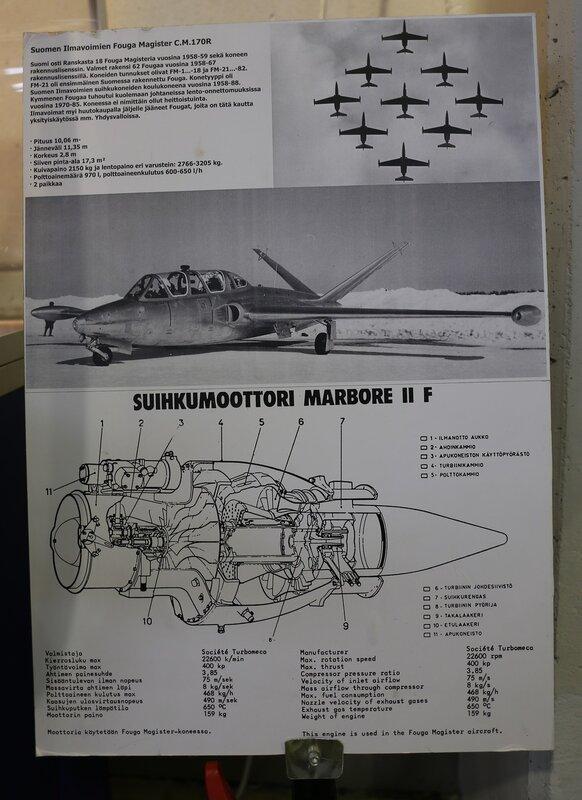 Авиамузей Вантаа. Fouga CM-170 Magiste